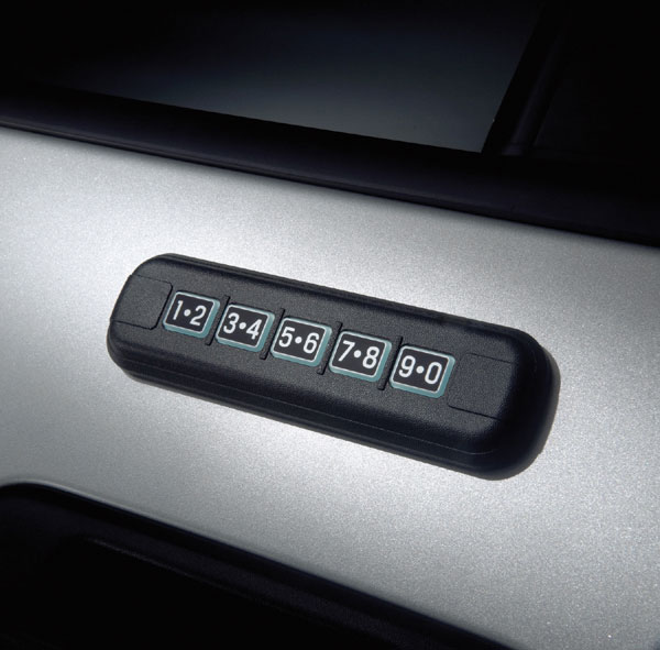 Can Ford Stick On Keyless Entry Keypads Be Adopted To Nissan